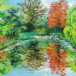 """Pond Series 1"" |Elizabeth M. |$25"