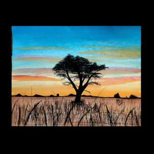 """Nature at Sunset"" | Ramasamy S. | $50"