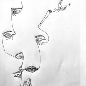 """Sex and Cigarettes"" | Anna O. |$25"