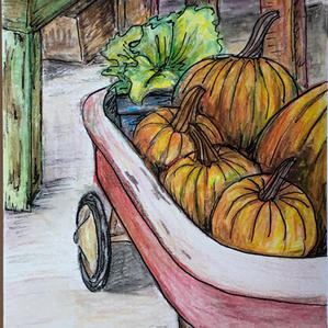 Pumpkin Picking | Emily Y. |$15