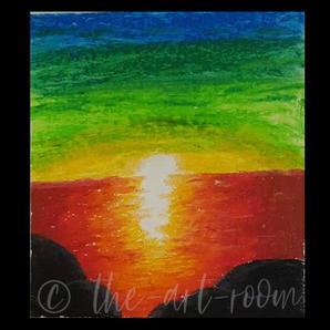 Sunset. | Cadence M. | $25