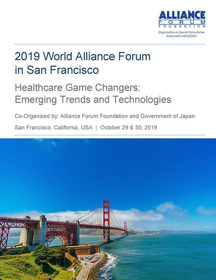 World Alliance Forum San Fransisco