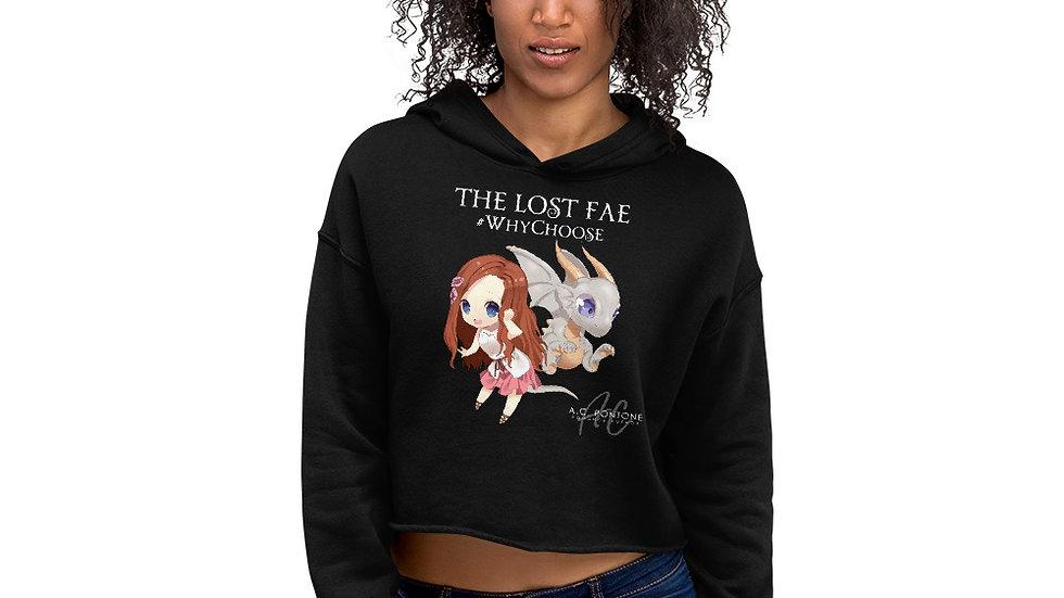 The Lost Fae - Crop Hoodie