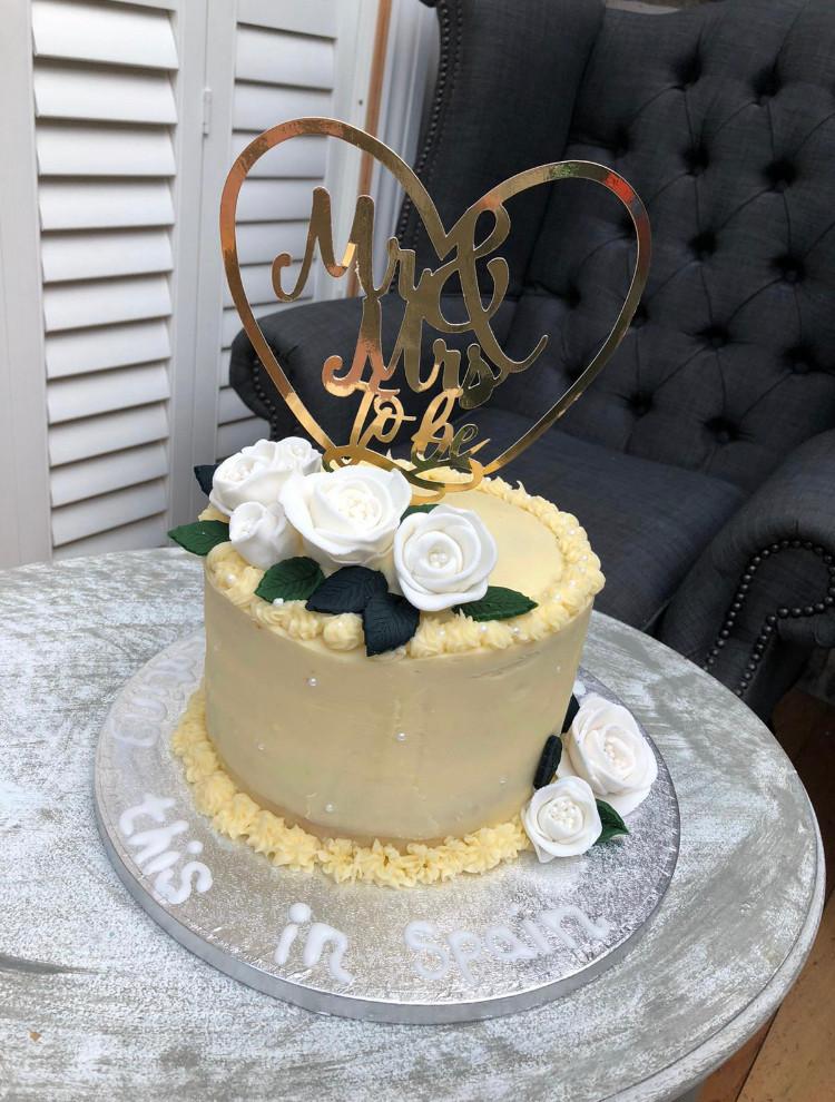 Non-wedding cake custom design