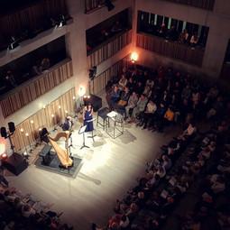 Met Kurt Bertels @ Concertgebouw Brugge