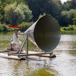 De Gek, compositie: Bart van Dongen, Kunstwerk: Bert Lemmens @ Meerkunst