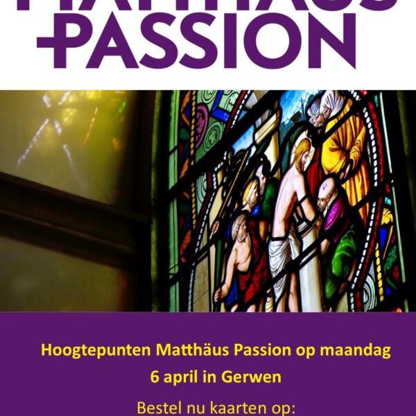 Hoogtepunten Matthäus Passion