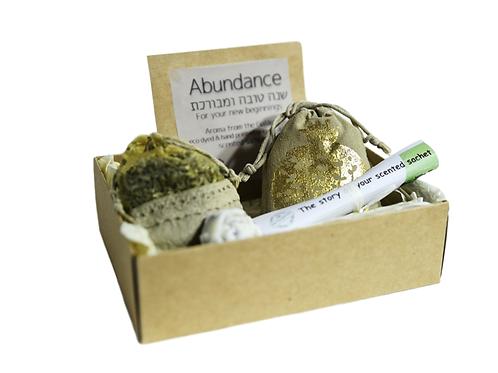 Abundance (Pomegranate dye & decor in a classic gift box)