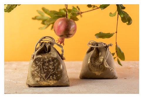 שפע הרימון- שקית ריח ארומה מהגליל באריזת מתנה