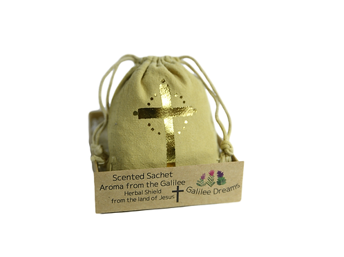 Scented Sachet Aroma from Galilee - Herbal shield from the land of Jesus (mini)