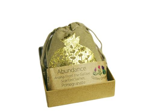 Abundance scented sachet aroma from the Galilee (mini gift box)