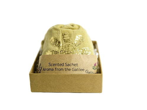 Blossom scented sachet Aroma from the Galilee  (mini gift box)