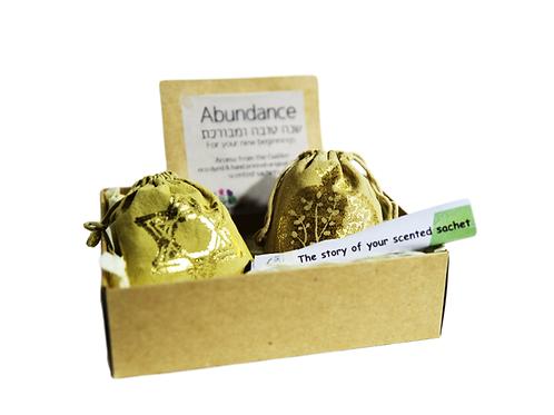 Abundance (Pomegranate & Star of david decor (deluxe gift box)