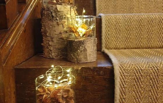 Birch Lanterns