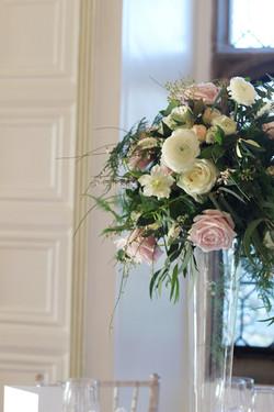 Tall Spring vase arrangement