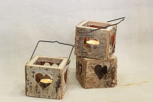 Birch Heart Lanterns