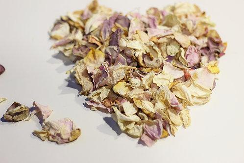 Dried Rose Petals - PASTEL