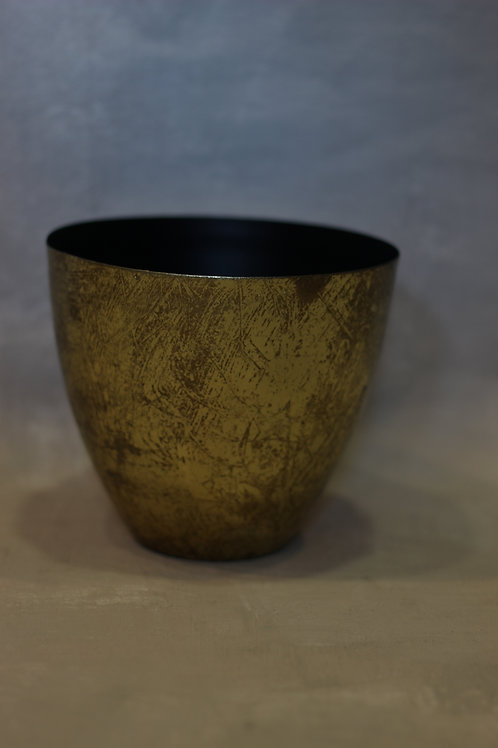 Gold Textured Pot
