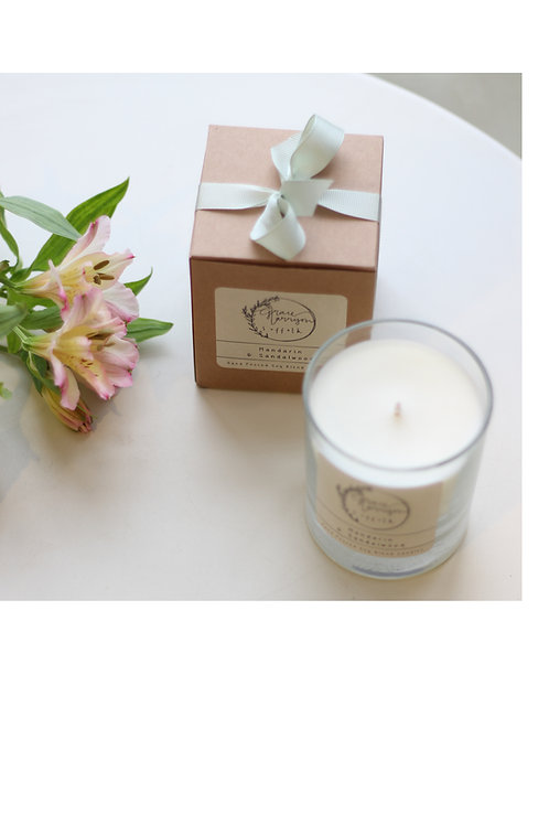 Luxury Soy Blend  Single Wick Candle