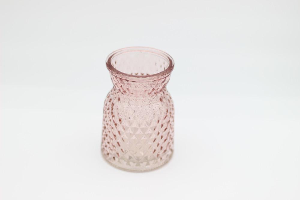 dusky pink jar - small