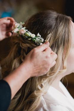 HAIR FLOWERS.