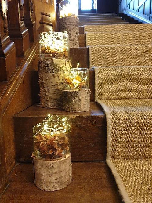 Birch Wood Vase