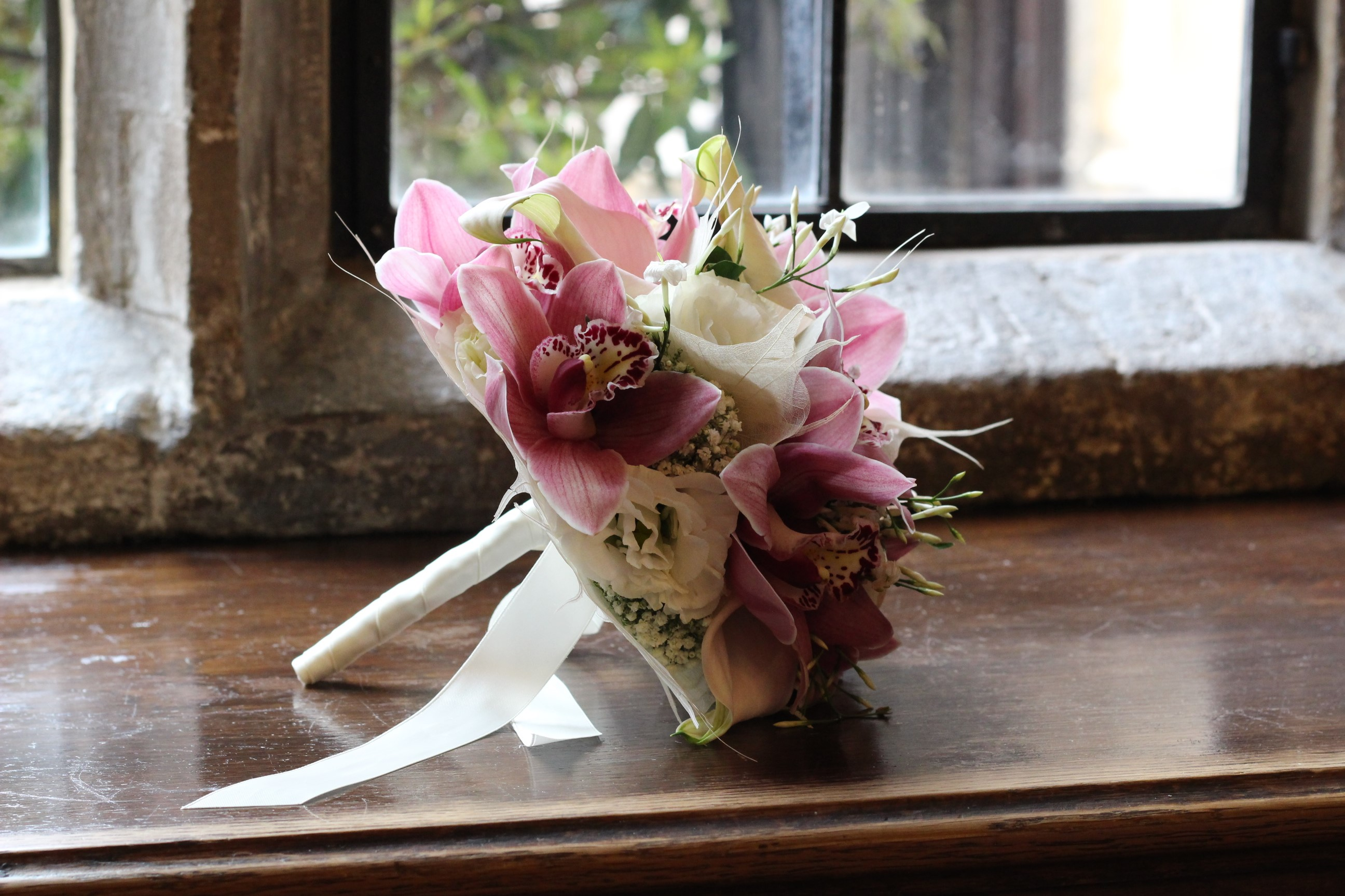 Couture bridal bouquet