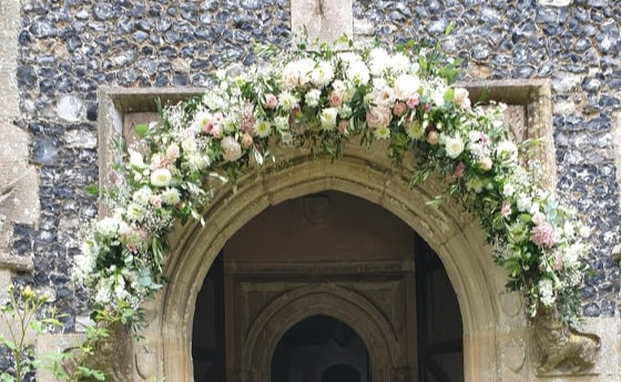 HENGRAVE HALL ARCH