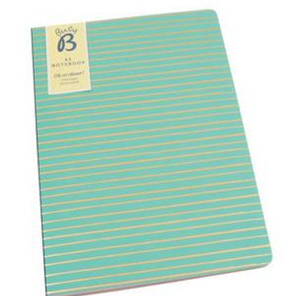 Stripy A5 Notebook