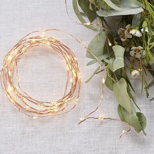 Rose Gold LED String Lights