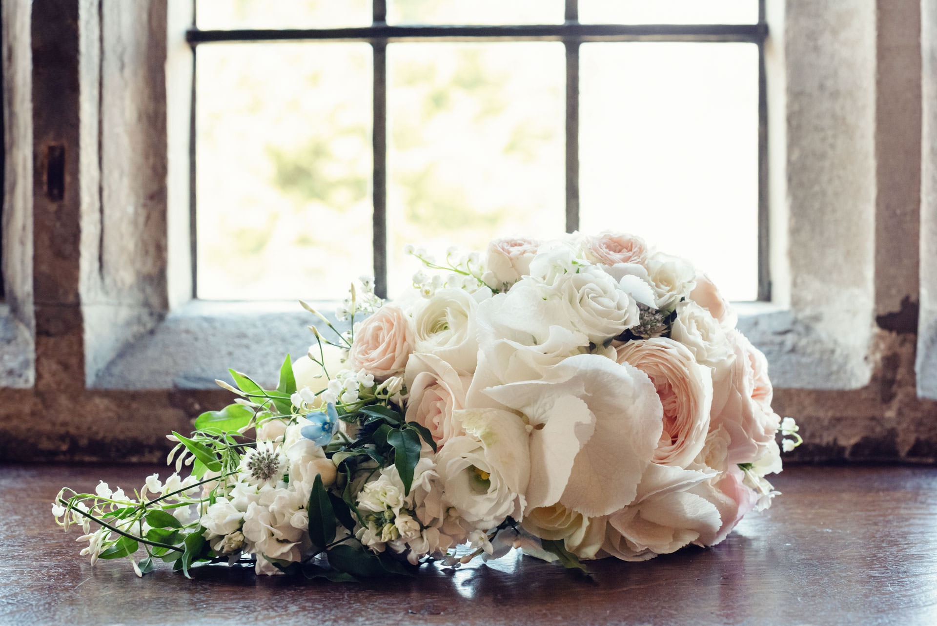 Charlotte's beautiful bridal bouquet