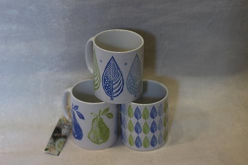 Linen Prints Mugs
