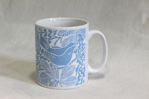 Linen Prints Blackbird Mug