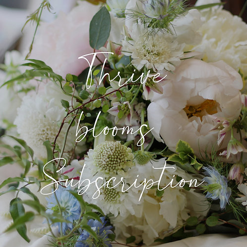 Thrive BLOOMS Subscription