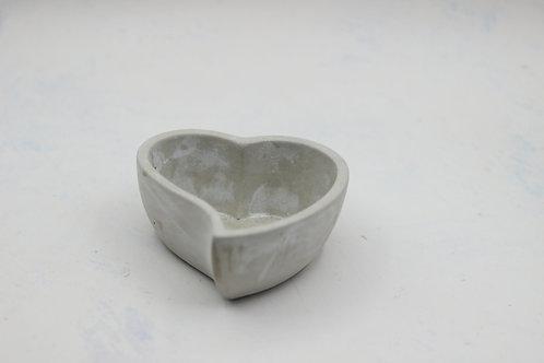 Heart Concrete Dish