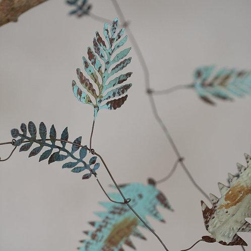Vintage Style Leaf Garland