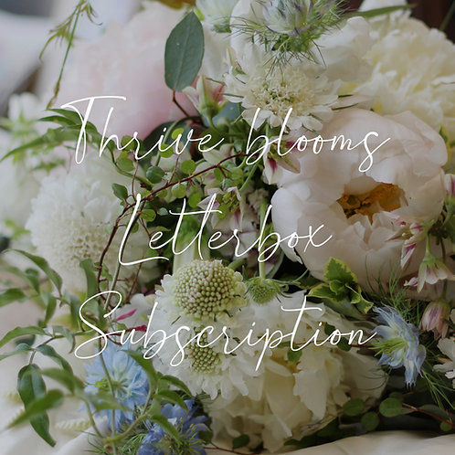 Thrive Letterbox BLOOMS Subscription