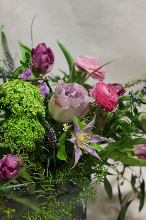 Country Vase Design