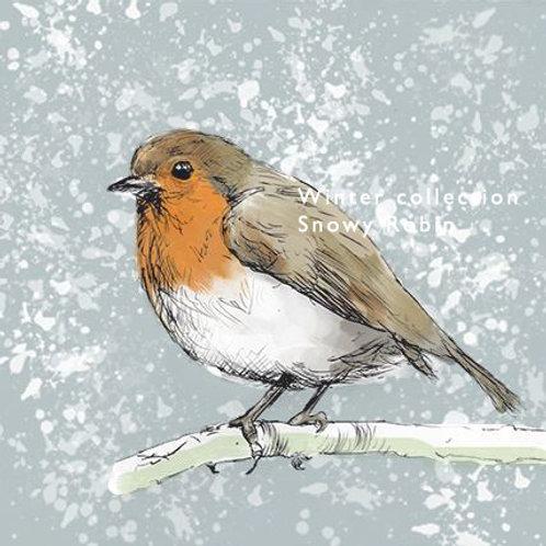 The Snowy Robin
