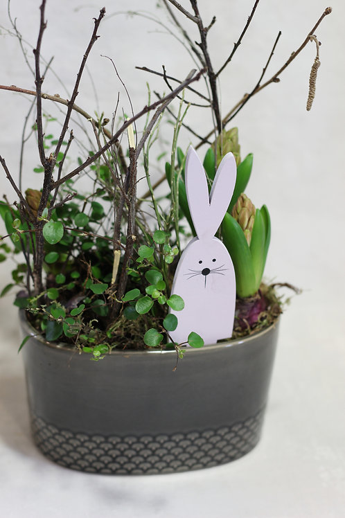 Easter Hyacinth Planter