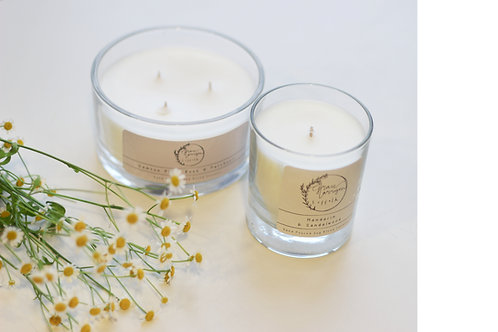 50cl Luxury Soy Blend Three Wick Candle Gift Boxed
