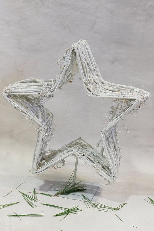 Freestanding rattan Star