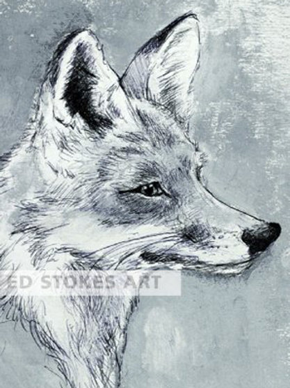 Mr Fox A4 print