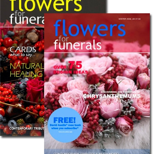 Flowers for Funerals Magazine Duo