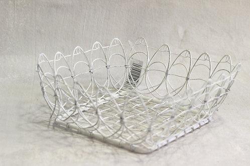 Wire work basket