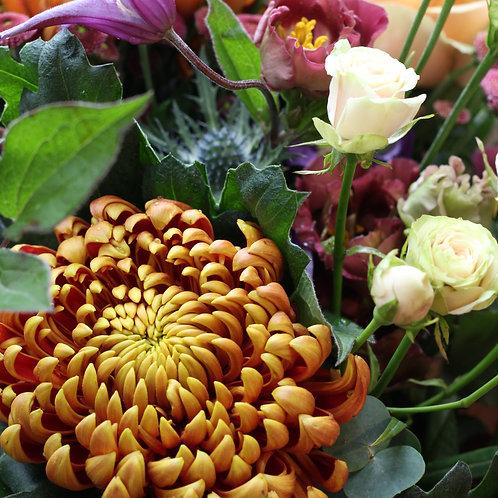 Russet blues bouquet