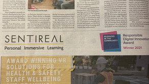 Sentireal hit the local media!