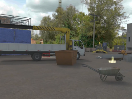 NIACRO Building Site Health and Safety Training in VR