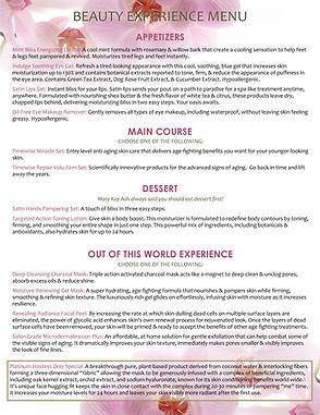 Mary Kay Beauty Experience_Menu.jpg