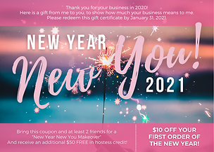 New Year New You 2021 w coupon sparkles.